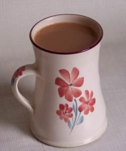 Clay Petals Pottery Mug