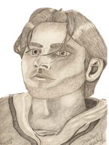 sketch of dwarf Bronwyn